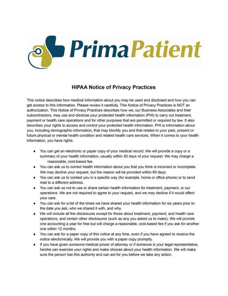 Concierge Care IM PC HIPAA Notice of Privacy Practices.docx 1